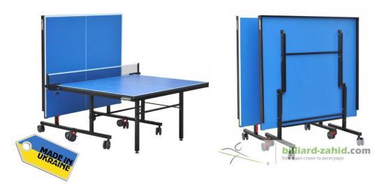 Тенісний стіл G-PROFI в напів та в складеному вигляді