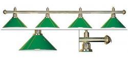 Лампа Evergreen на 4 плафона (green)